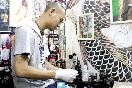 Cafe Tattoo số 8 Nguyễn Quyền, Hai Bà Trưng, Hà Nội