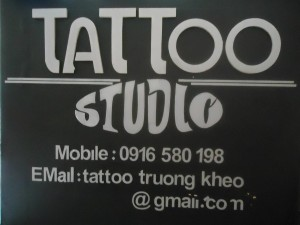 Cửa hàng xăm nghệ thuật Minh Khai - Trường Khèo Tattoo