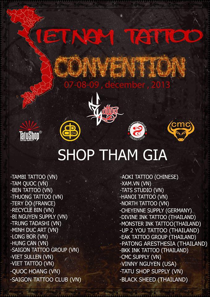 Vietnam Tattoo Covention 2013