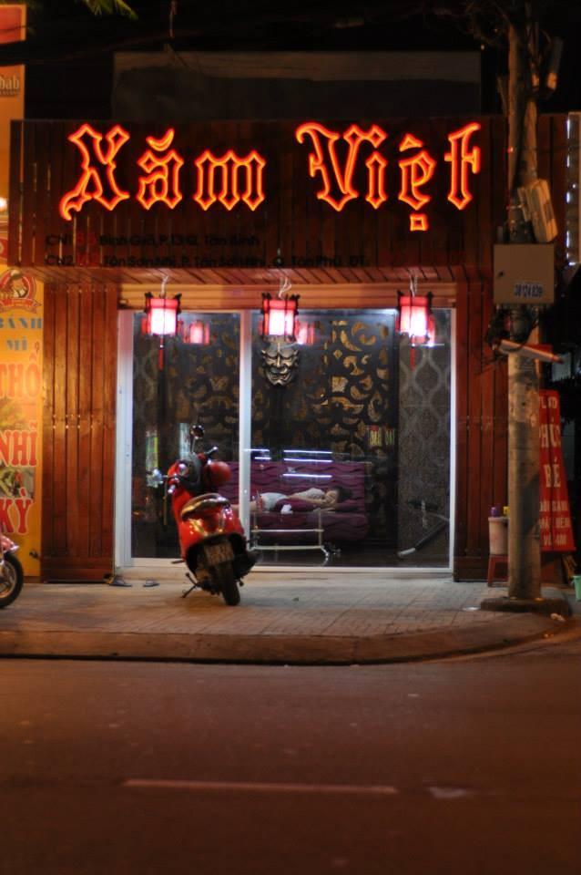 Cửa hàng xăm Việt Tân Phú Sài Gòn