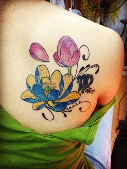 Cửa hàng xăm nữ đẹp Thái Nguyên Quyên Hán Tattoo