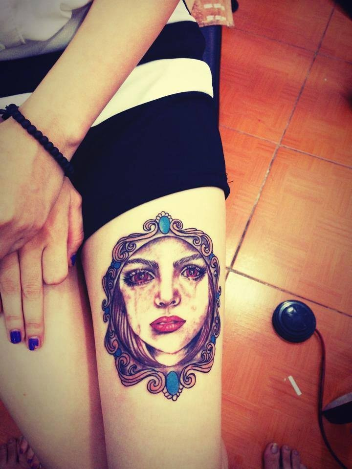 Địa chỉ xăm Thái Nguyên Quyên Hán Tattoo