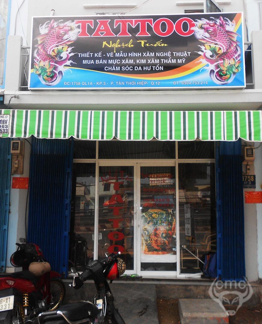 Địa chỉ xăm hình uy tín đẹp quận 12 TP Hồ Chí Minh