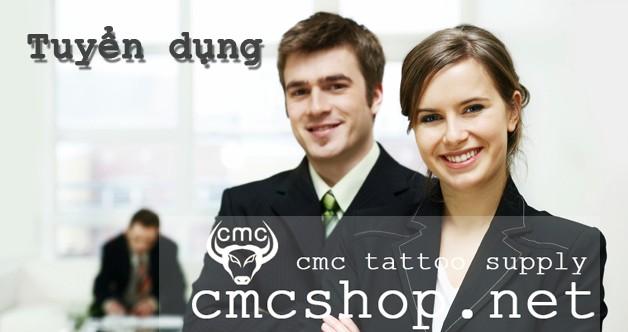 CMC Tattoo Supply tuyển dụng nhân sự