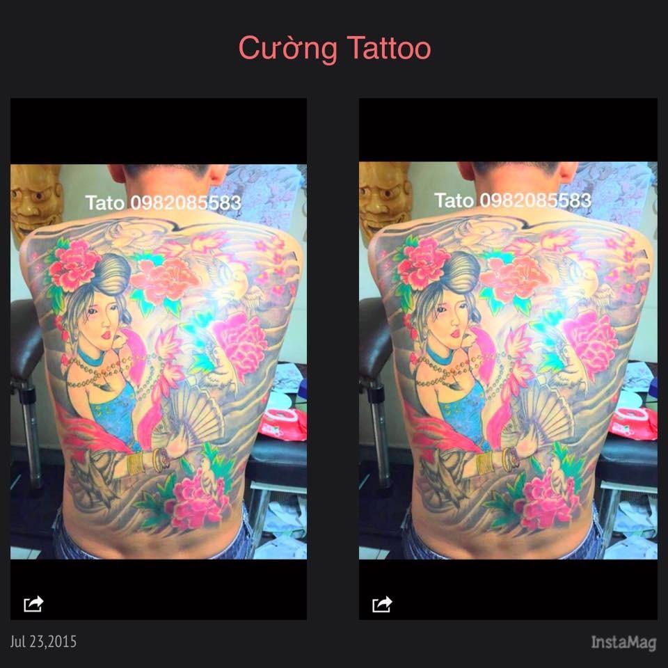 Kín lưng luôn tại [Hà Nội] Cường Tattoo - 37 Ngách 624/12 Minh Khai