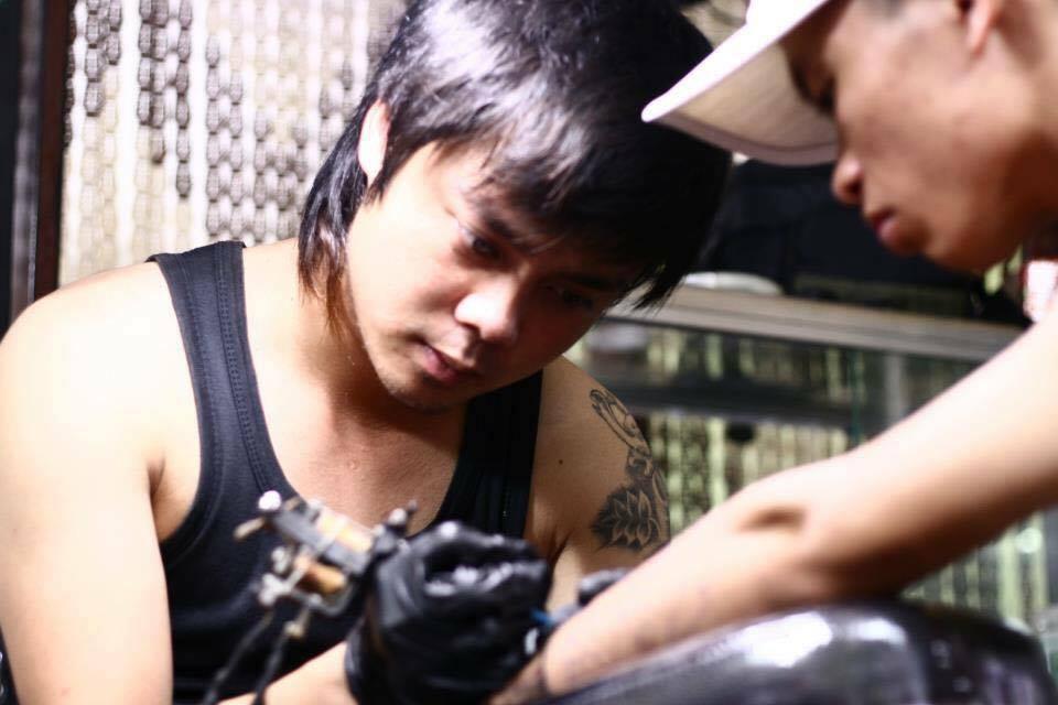 Hình ảnh thợ xăm Tuấn Bẻm Tattoo Cầu Giấy