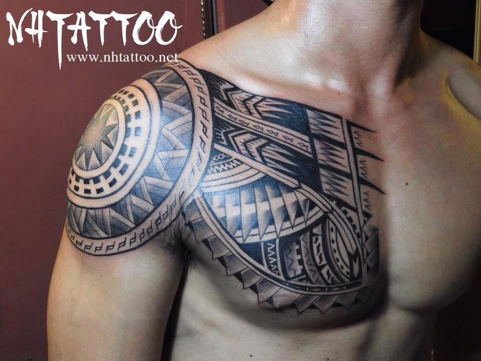 hinh xam maori tại Năm Hoàng Tattoo Studio: Hẻm 331 Nguyễn Thiện Thuật, P.1, Q.3