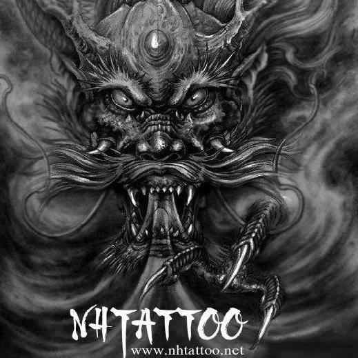 logo Năm Hoàng Tattoo Studio: Hẻm 331 Nguyễn Thiện Thuật, P.1, Q.3