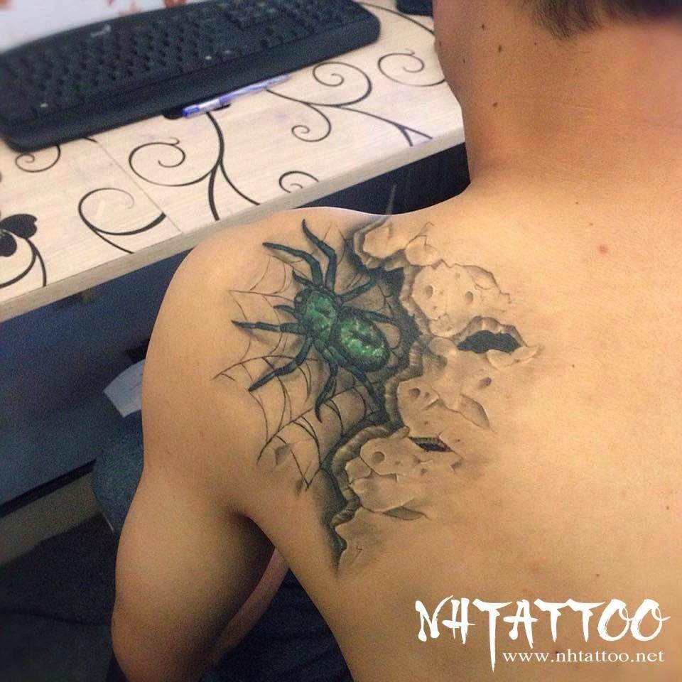 tac pham nhen hoan thien tại Năm Hoàng Tattoo Studio: Hẻm 331 Nguyễn Thiện Thuật, P.1, Q.3